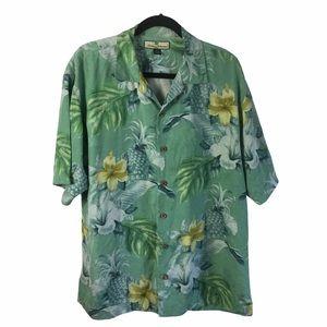 Tommy Bahama Men's Aloha Shirt, Authentic, Medium
